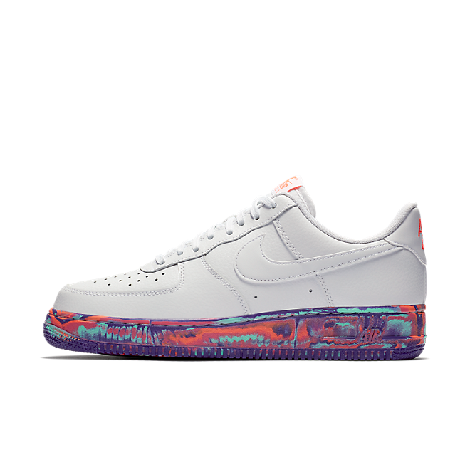 Nike Air Force 1 Low White Multi-Color Marble