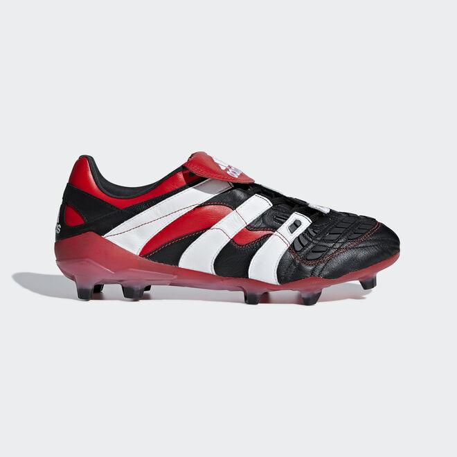 adidas Predator Accelerator Firm Ground Cleat Black White Red