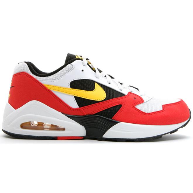 Nike Air Tailwind 92 White Tour Yellow Crimson