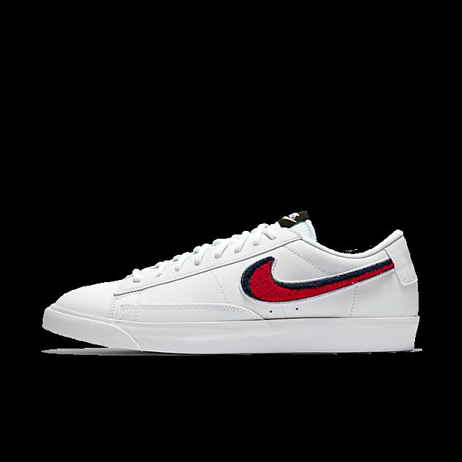 Nike Blazer Low 3D White Blue Red | AV6964 100