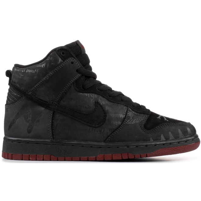 Nike SB Dunk High Melvins (Black)