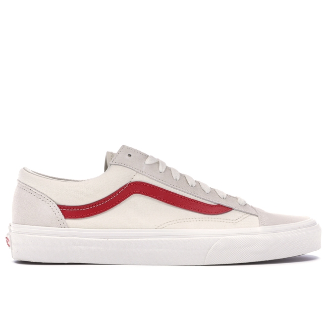 Vans Style 36 Marshmallow Racing Red