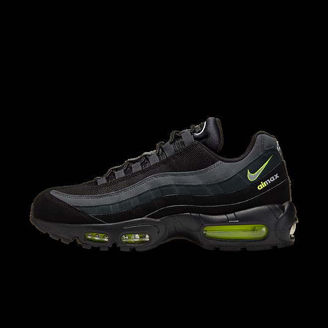 Nike Air Max 95 Retro Logo Black Grey Volt