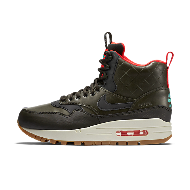Nike Air Max 1 Mid Sneakerboot Reflect SequoiaBlack Bright
