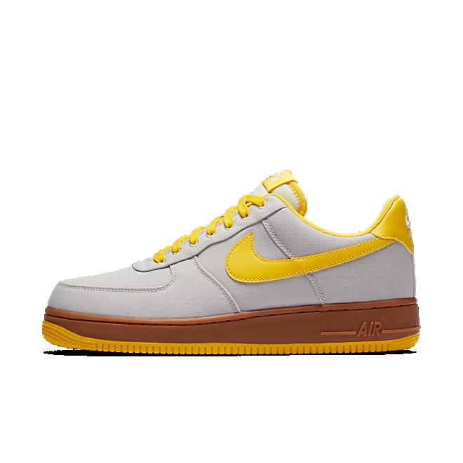 Nike Air Force 1 Low TXT Light Bone Tour Yellow