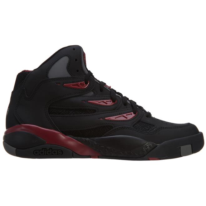 adidas Mutombo 2 Originals Basketball Shoe Cblack/Cblack/Cburgu