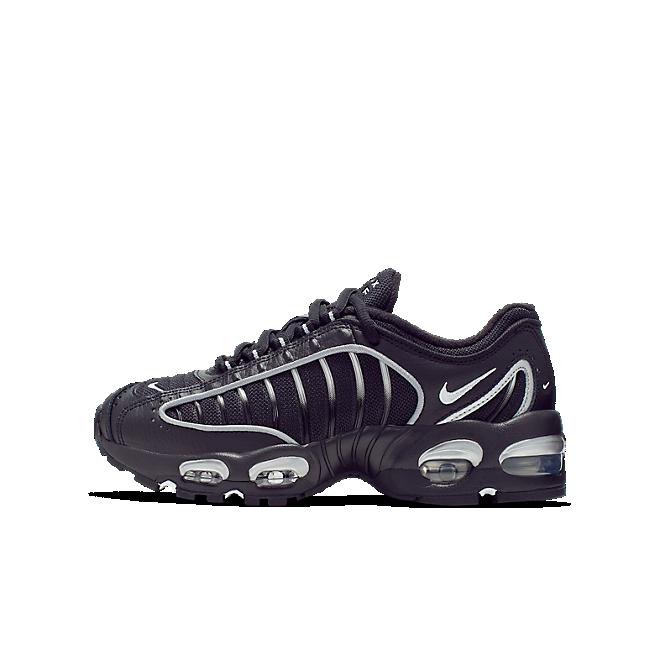 Nike Air Max Tailwind 4 Black Metallic Silver (GS)