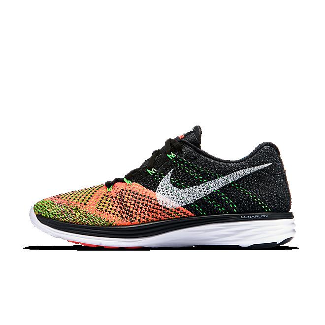 Nike Flyknit Lunar3 Orange Toe