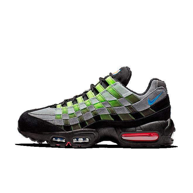 Nike Air Max 95 Woven Volt Black