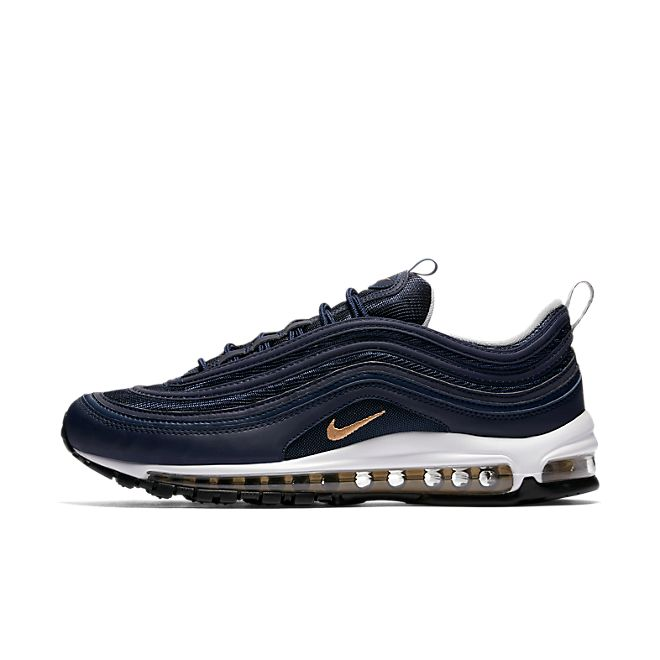 "Nike Air Max 97 ""Midnight Navy"" zijaanzicht"