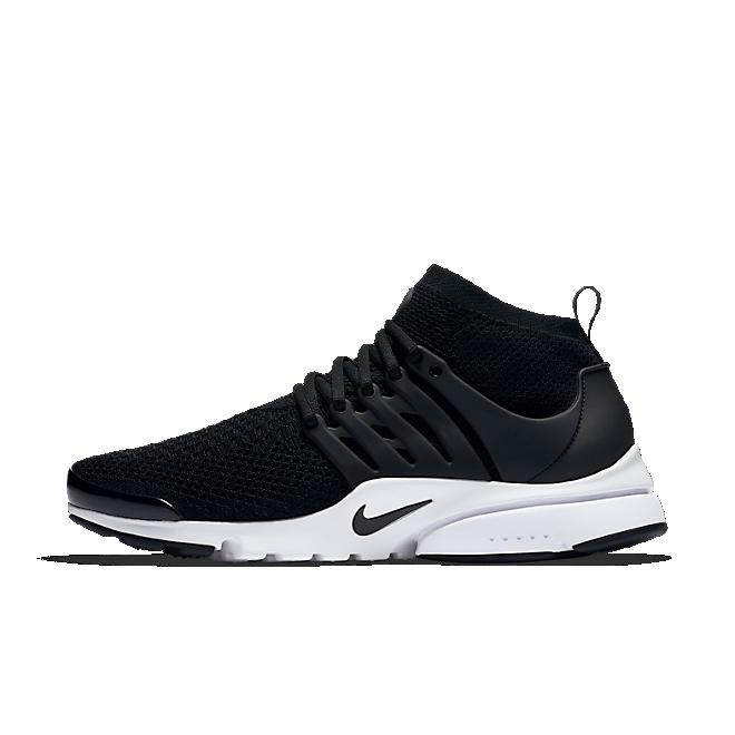 Nike Air Presto Flyknit Ultra Black White
