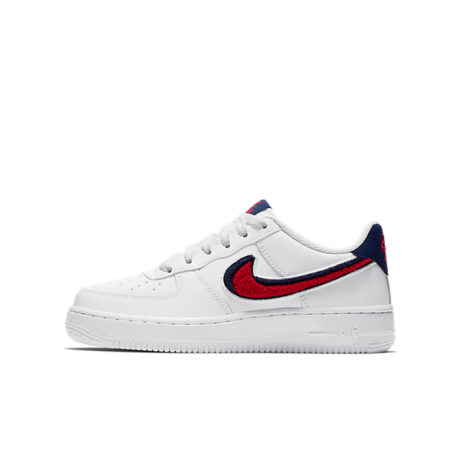 Nike Air Force 1 Low 3D Chenille Swoosh USA (GS)