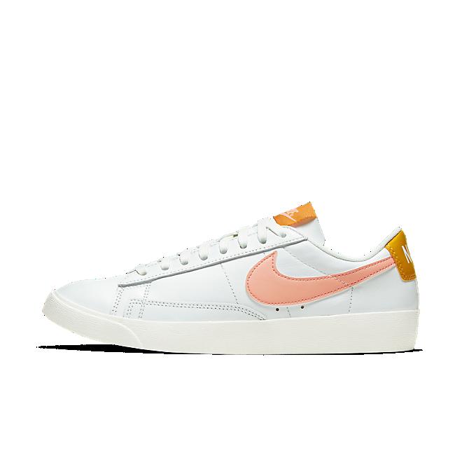 Nike Blazer Low Summit White Pink Quartz (W)