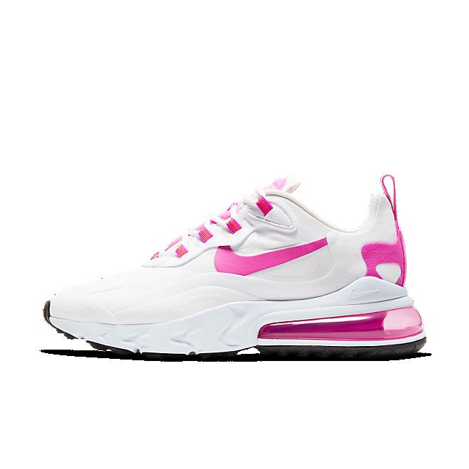 Nike Air Max 270 React White Fire Pink (W)