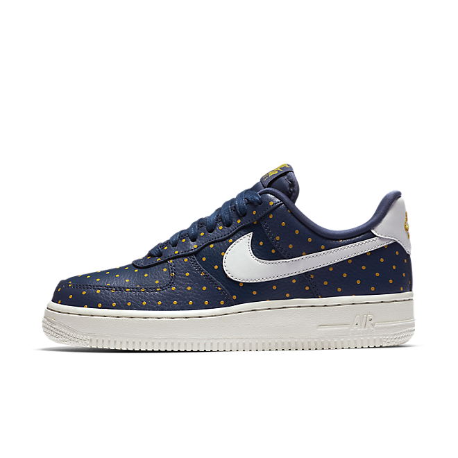 Nike Air Force 1 Low Thunder Blue Yellow Ochre (W)