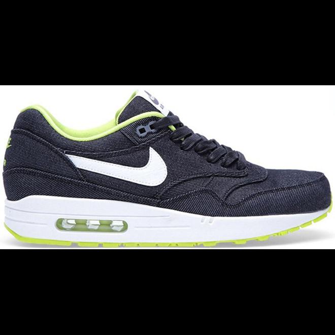 Nike Air Max 1 Black Denim Cyber