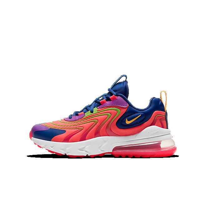 Nike Air Max 270 React Crimson Navy (GS)