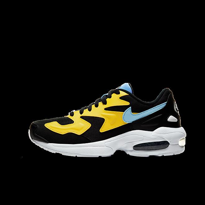 Nike Air Max 2 Light Yellow Light Blue Black