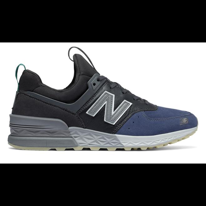 New Balance 574 Sport Mita Black Blue Grey