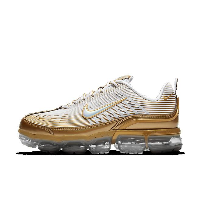 Nike Air VaporMax 360 White Metallic Gold