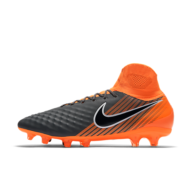 Nike Magista Obra II Pro DF FG Dark Grey Total Orange