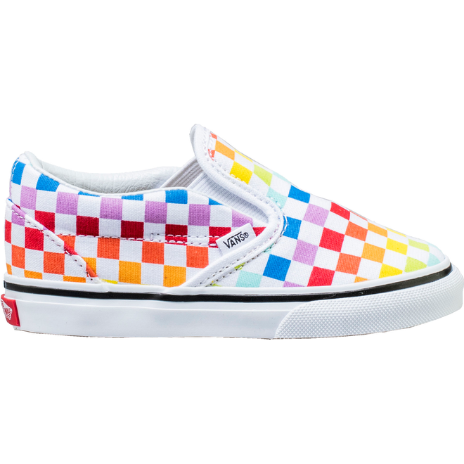 Vans Slip-On Rainbow Checkerboard (TD)