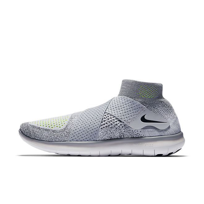 Nike Free RN Motion Flyknit 2017 Wolf Grey | 880845 002