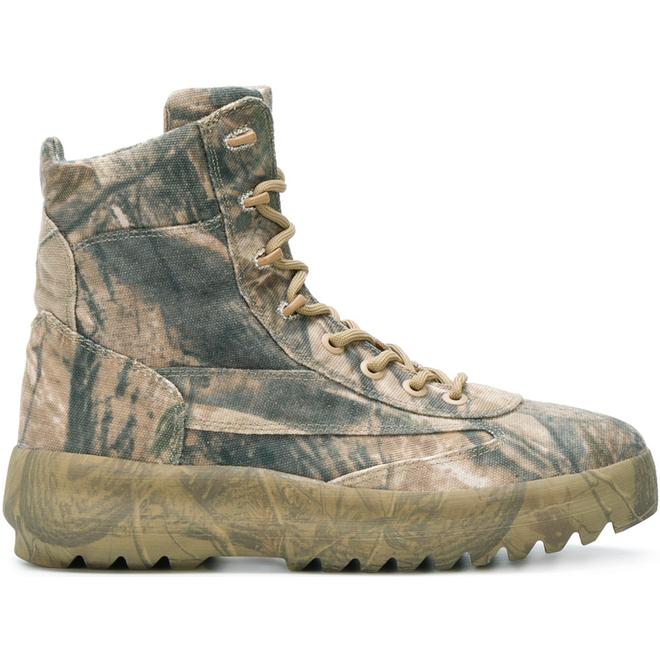 Yeezy Canvas Boot Season 5 Camo
