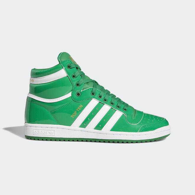 adidas Top Ten Hi Green