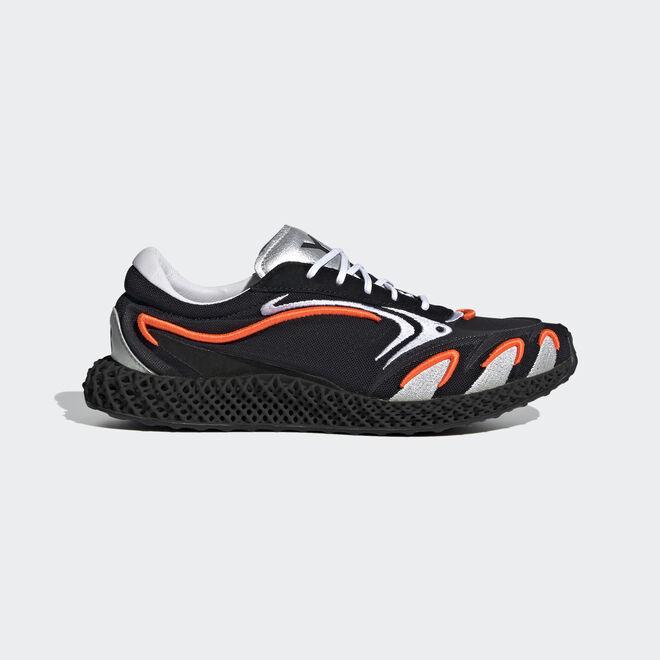 adidas Y-3 Runner 4D Black Orange