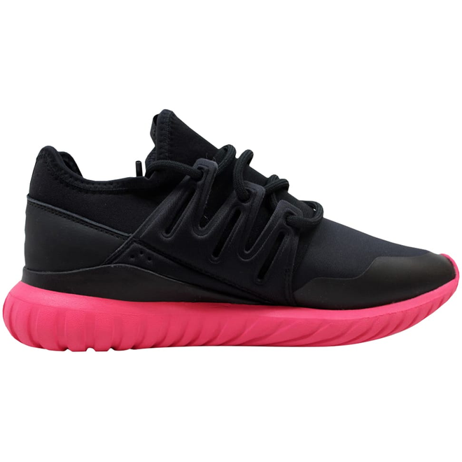 adidas Tubular Radial Black/Black-Pink