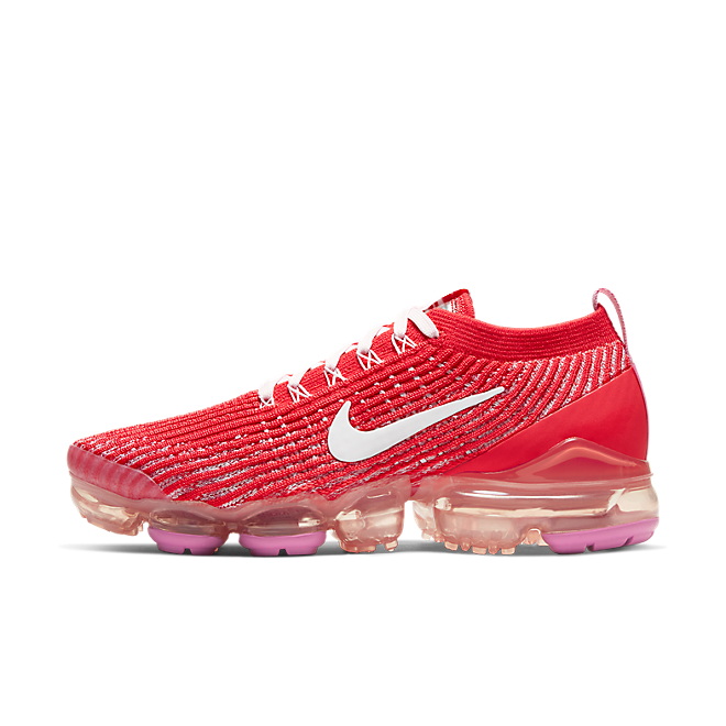 Nike Air VaporMax Flyknit 3 Track Red Magic Flamingo (W)