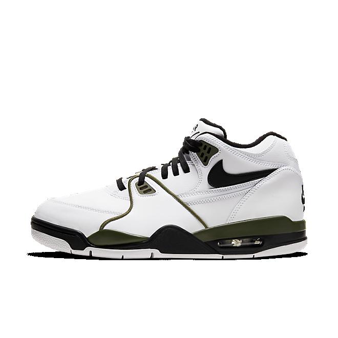 Nike Air Flight 89 White Black Olive