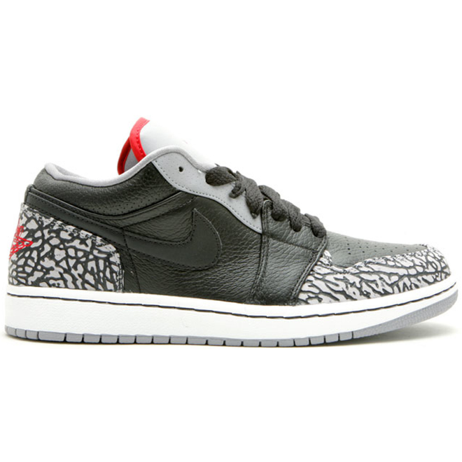 Jordan 1 Phat Low Black Cement (2008)