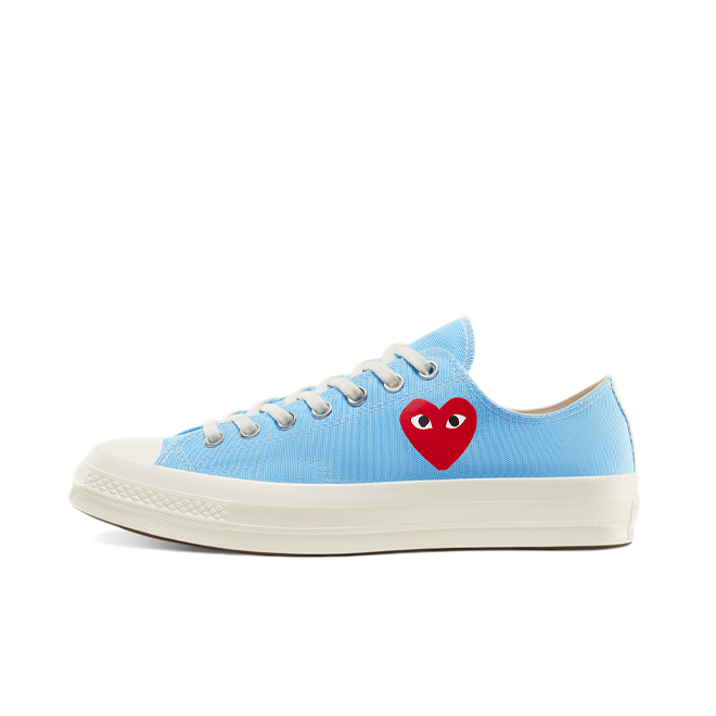 Comme des Garcons X Converse Chuck Taylor Low 'Bright Blue' 168303C