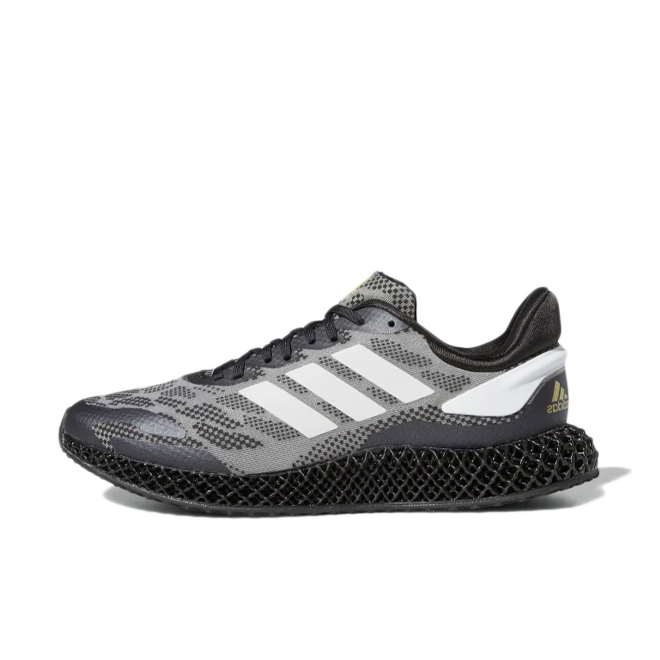 adidas 4D Run 1.0 'Core Black' zijaanzicht