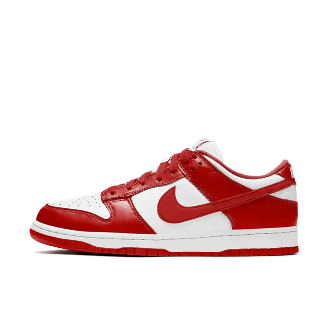 Nike Dunk Low SP 'University Red' zijaanzicht