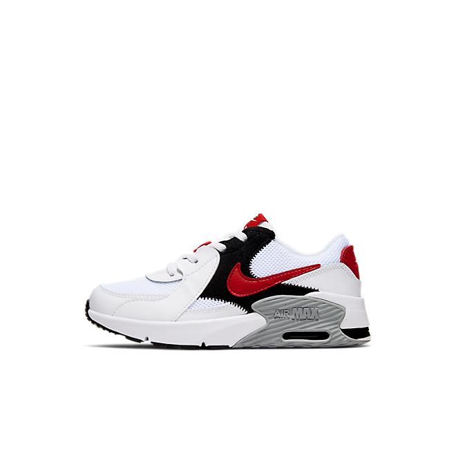 Air Max Excee White University Red (PS)
