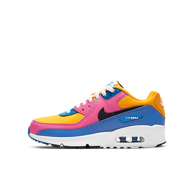 Nike Air Max 90 Leather Multi-Color (GS)