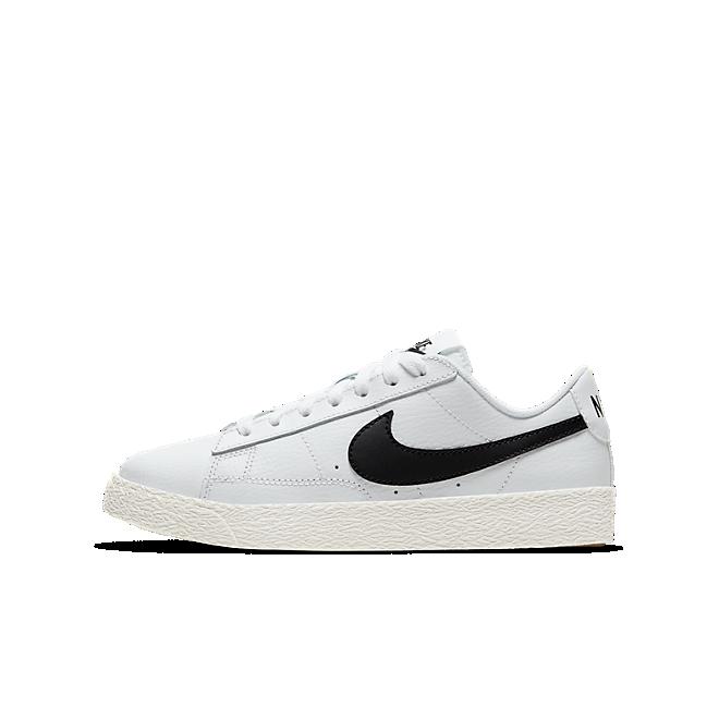 Nike Blazer Low White Black (GS)