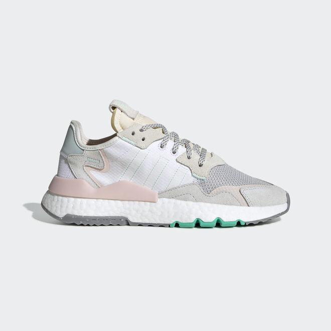 adidas Nite Jogger White Mint Pink (W)