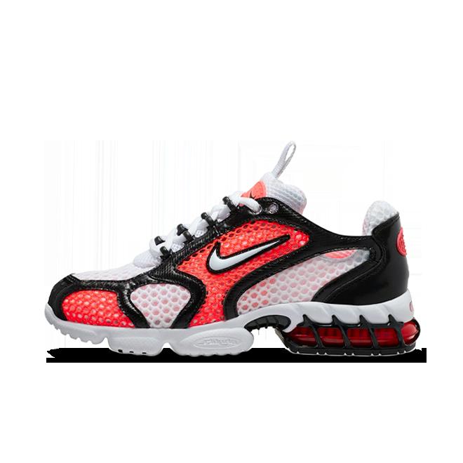 Nike Spiridon Cage 2 'Flash Crimson' zijaanzicht