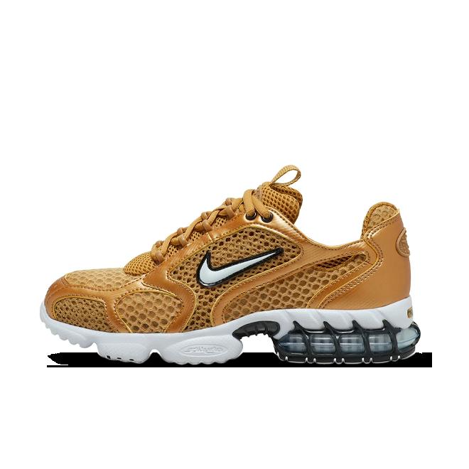 Nike Spiridon Cage 2 'Gold' zijaanzicht