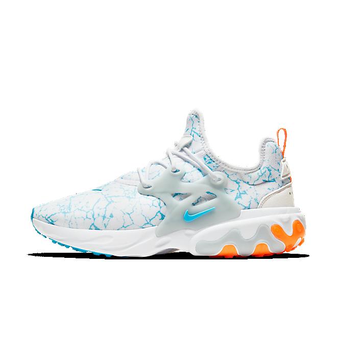 Nike React Presto Premium White Blue Fury