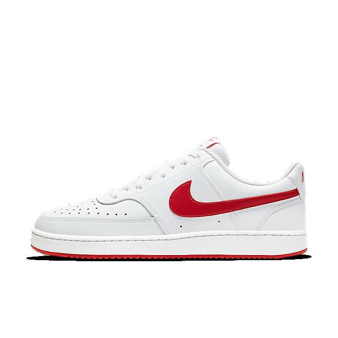 NikeCourt Vision Low White University Red