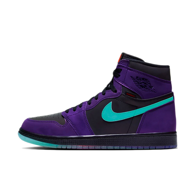 Air Jordan 1 High Zoom 'Court Purple' zijaanzicht