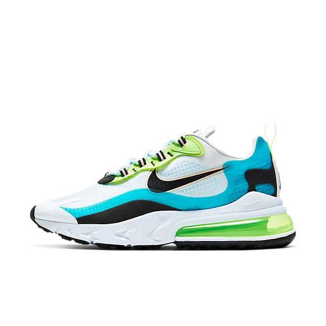 Nike Air Max 270 React Vibrant Pack 'Oracle Aqua'