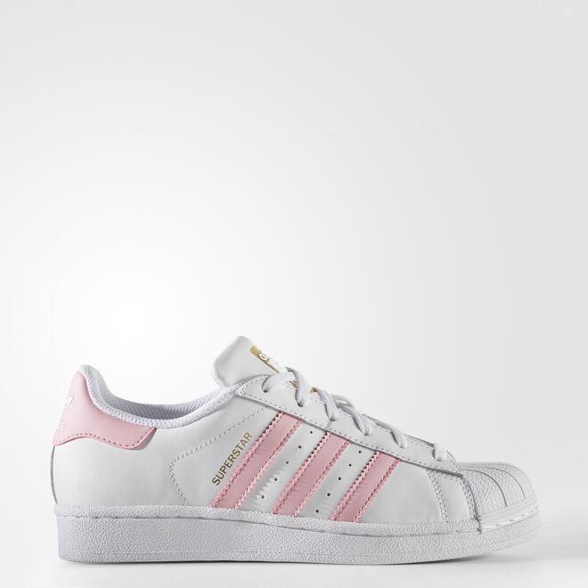 adidas Superstar Light Pink Gold Metallic (GS)