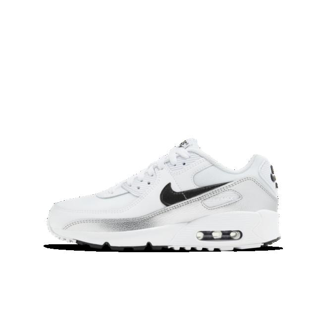 Nike Air Max 90 GS 'Silver'