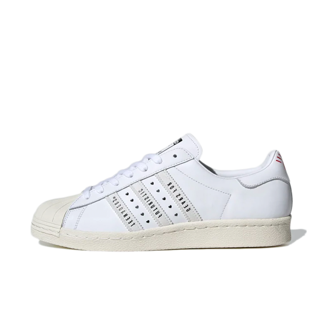 Human Made X adidas Superstar 'Cloud White'
